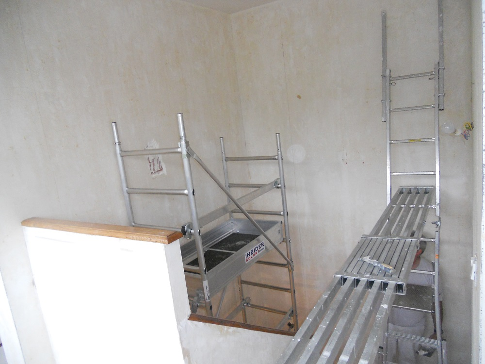 Astuce Cage D Escalier Comment Peindre En Toute Securite